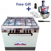 GULF GAS 5 Burners Gas Cooker with Food Processor…