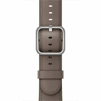 Apple Classic Buckle - Taupe