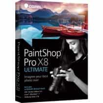 Paintshop Pro X8 Ultimate, English, 1 User